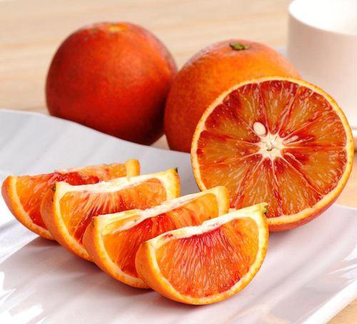 成熟的塔罗科血橙实拍